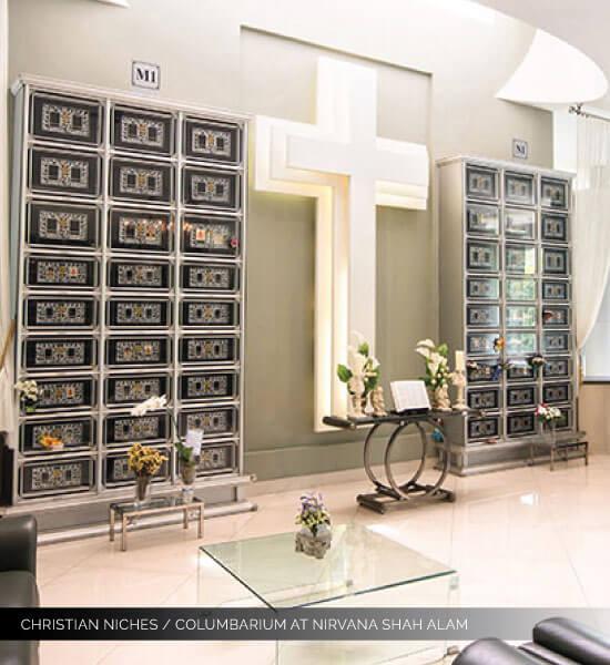 christian columbarium nirvana shah alam