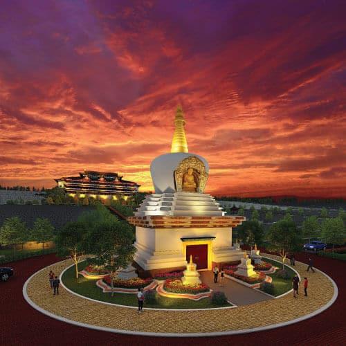 Nirvana Klang Stupa