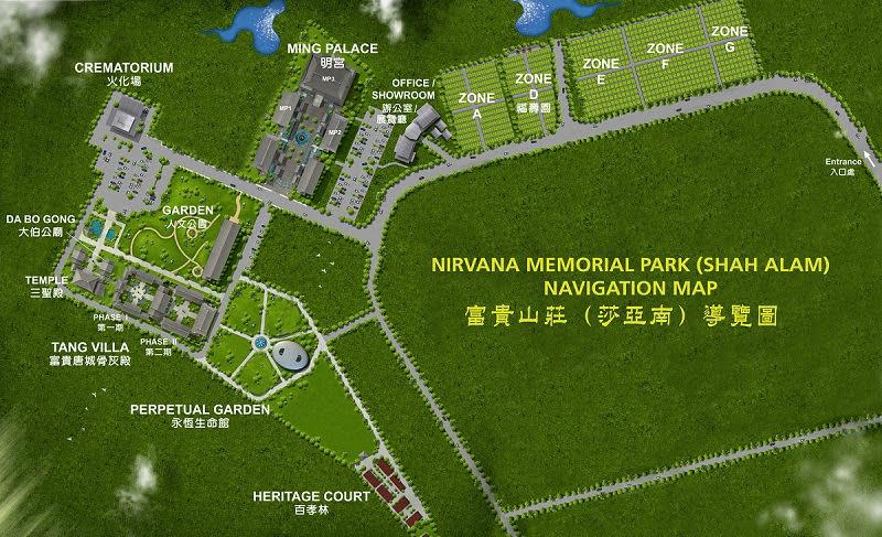 nirvana shah alam map